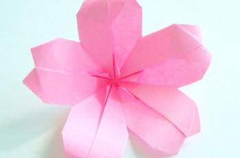 flor de sakura origami