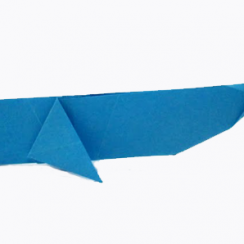 ballena de papel