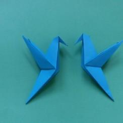 colibri origami