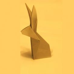 conejo de papel
