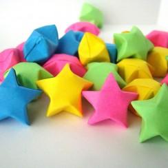estrella inflada origami