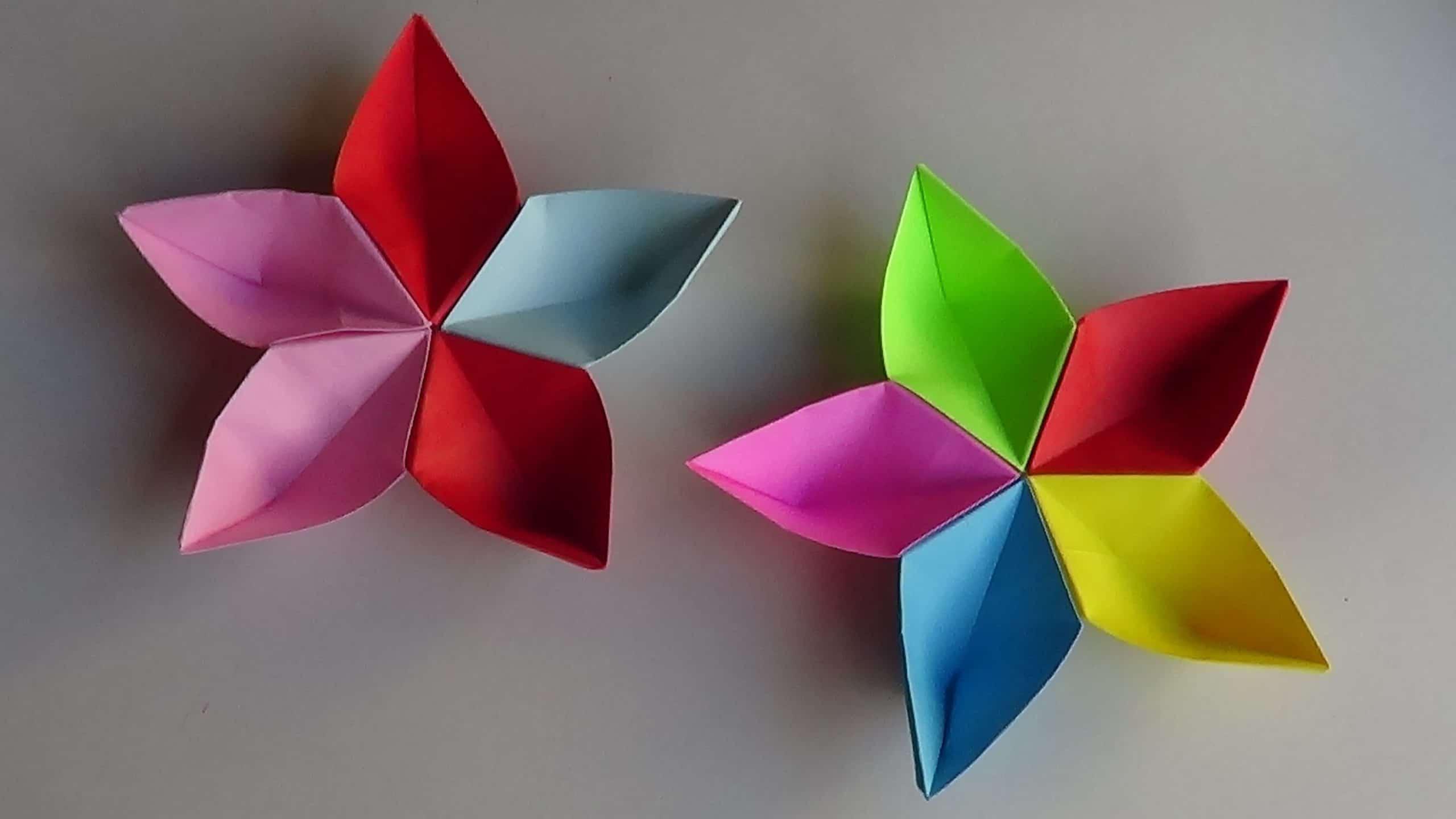 sakura modular de origami