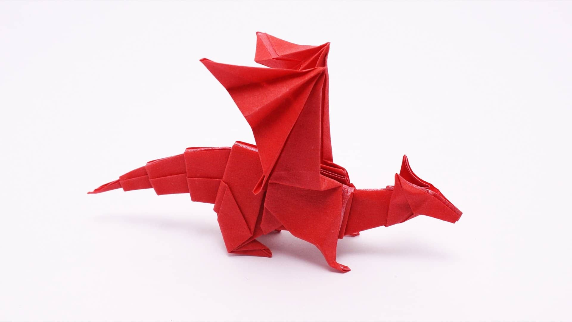 dragon papel origami