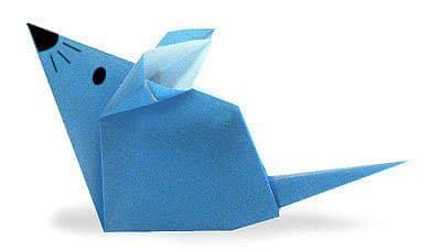 raton origami facil